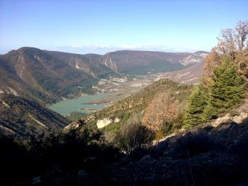 15 Arguis et son Lac, en arrivant au Pico del aguila