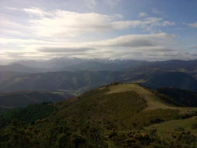 15 Espagne, Sommets enneigés