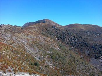 21 Pico del Aguila vu depuis la descente vers St Eulalia