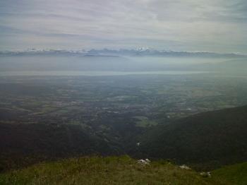 Léman, Alpes...